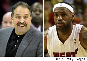 Stan Van Gundy and LeBron James