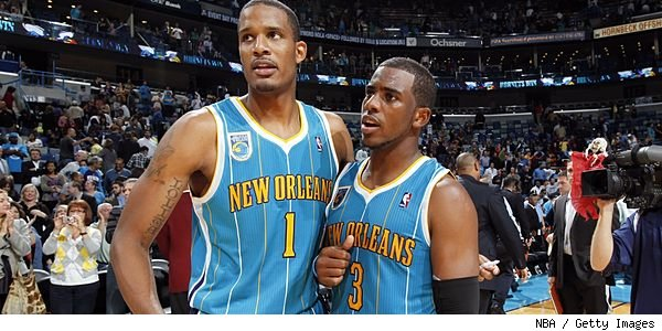 Trevor Ariza and Chris Paul