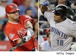 Mike Napoli Vernon Wells