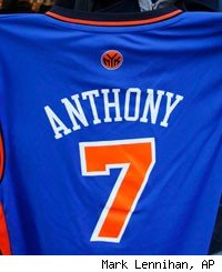Carmelo Anthony traded