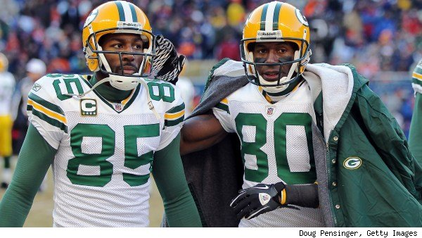 Greg Jennings and Donald Driver