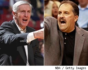 Jerry Sloan and Stan Van Gundy