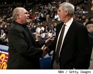 George Karl, Jerry Sloan
