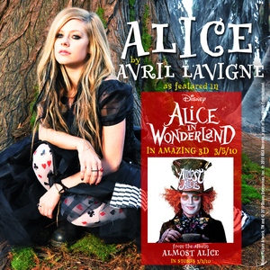 CrimsonRain.Com [Single] Avril Lavigne - Alice (OST Alice In Wonderland)