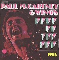 Paul McCartney ninteen hundred and eighty five