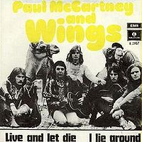 Paul McCartney Live and Let Die