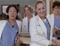 Heigl and Oh of Grey's Anatomy