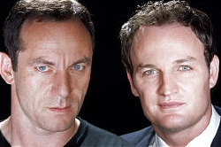 Jason Isaacs and Jason Clarke