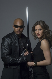 Kirk Jones and Jill Wagner (Blade and Krista)