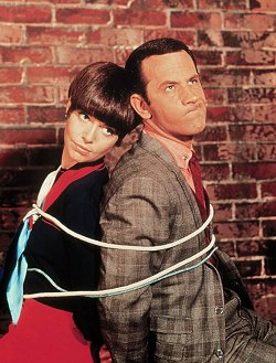 Barbara Feldon and Don Adams