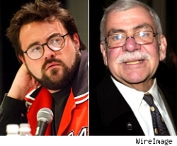 Kevin Smith and Joel Siegel