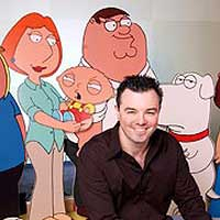 The many faces of Seth McFarlane