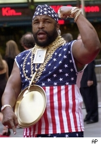Mr. T sheds the gold