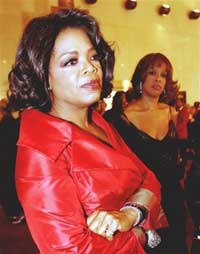oprah winfrey; gayle king