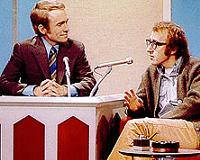 Dick Cavett and Woody Allen