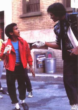 Alfonso Ribeiro and Michael Jackson