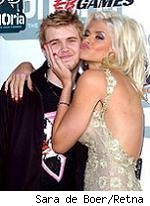 Anna Nicole and Daniel Smith