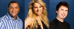 Final three contestants of Celebrity Duets