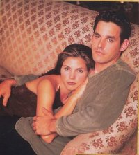Charisma Carpenter and Nicholas Brendon