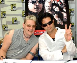 Corey Haim and Corey Feldman