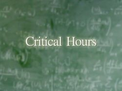 Critical Hours an Education nominee at the New York Television Festival