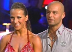 Edyta Silwinska and Joey Lawerence