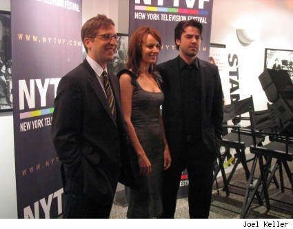 Spike Feresten, Rosemarie DeWitt, and Ron Livingston