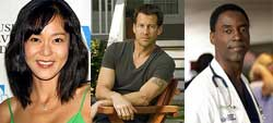 kim yun-jin; james denton; isaiah washington