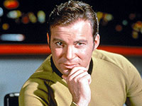 William Shatner as James T. Kirk