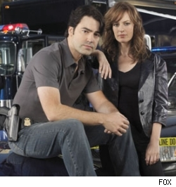 Ron Livingston and Rosemarie DeWitt of Standoff