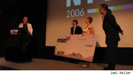 MSN award to Squid Dragon Legend