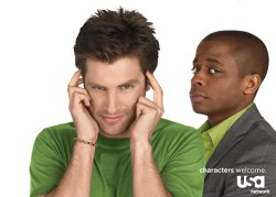 Shawn and Gus from Psych