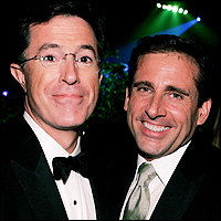 Stephen Colbert and Steve Carell