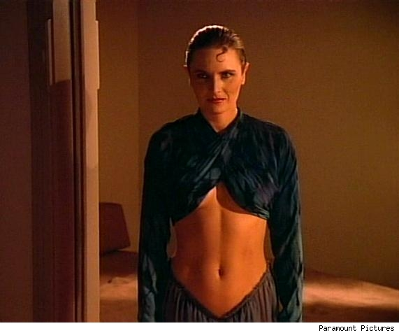Tasha Yar, Drunk and Horny in The Naked Now