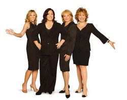 The new lineup of 'The View'