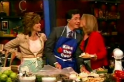 Jane Fonda, Stephen Colbert, Gloria Steinem
