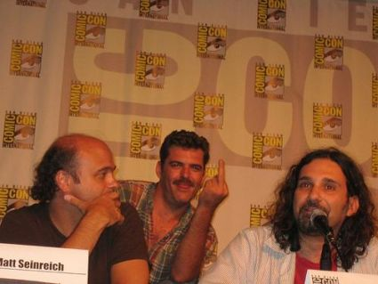 Scott Adsit, Jay Johnston and Dino Stamatopoulos