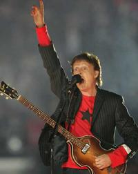 Paul McCartney at the Super Bowl