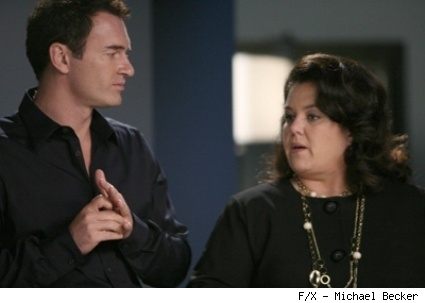 Julian McMahon and Rosie O'Donnell