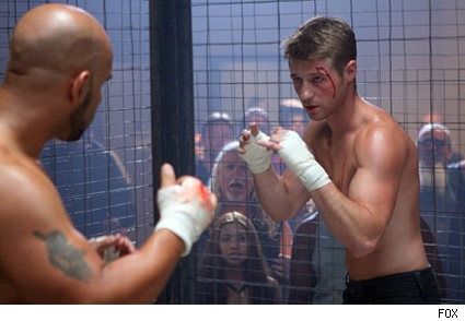 To help deal with the loss of Marissa, Ryan has taken up cage-fighting.