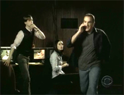 Matthew Gray Gubler, Paget Brewster, and Mandy Patinkin star in Criminal Minds.