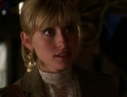 Chloe (Allison Mack) Lana has a scene with Chloe where she discounts any ...