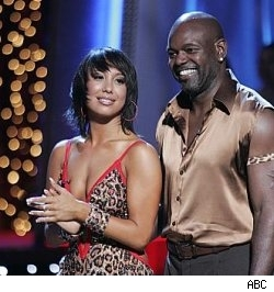 Emmitt Smith &amp; Cheryl Burke