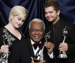 Kelly Osbourne, Sir Trevor McDonald, and Jack Osbourne