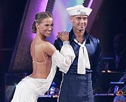 Joey Lawerence and Edyta Silwinska