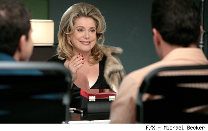 Catherine Deneuve guest stars on Nip/Tuck.