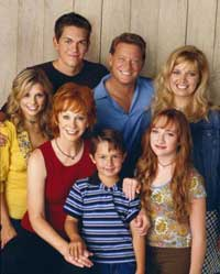 The cast of Reba