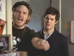 Chris Pratt and Adam Brody