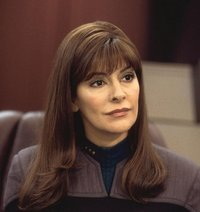 i'm sensing a lot of hotness, captain (deanna troi)