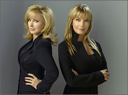 morgan fairchild; bo derek; fashion house